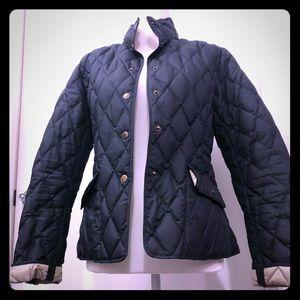 Woman's black Eddie Bauer jacket